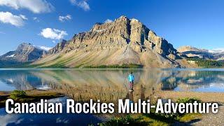 Banff to Jasper Multi-Adventure Tour
