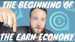 THE BEGINNING OF THE EARN ECONOMY WITH CRYPTOCURRENCY