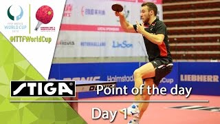 2015 Men's World Cup - Point of Day 1 - Presented by STIGA