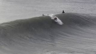 Surfing Hurricane Maria and stand-up tubes in Surf City, NC