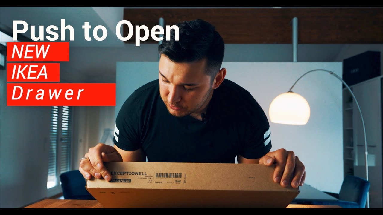 Neue Ikea Schubladen Push To Open Unboxing Exceptionell Youtube