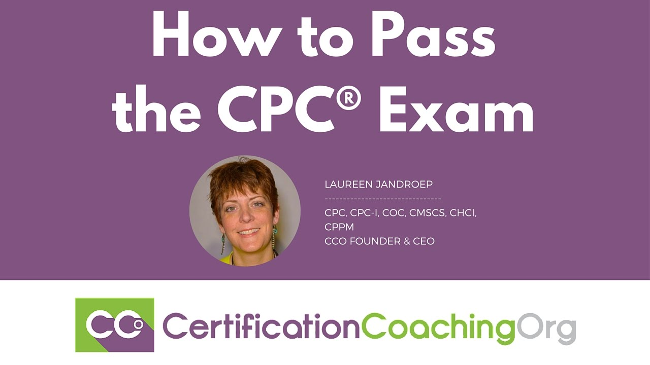 How to Pass the CPC Exam