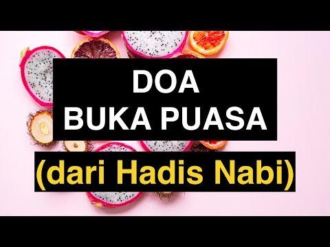 Doa Buka Puasa Ramadhan, Senin Kamis, Daud, DLL yang Shahih Sesuai Sunnah