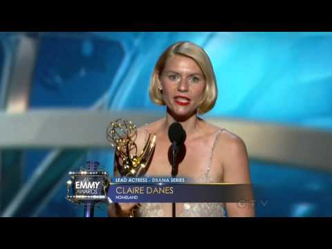 Emmys 2013  Outstanding Lead Actress Drama Series  Claire Danes