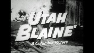 HD Film Trailer - Utah Blaine 1957