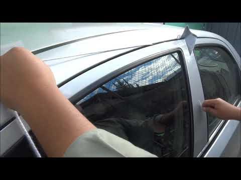 Como abrir la puerta de un auto sin llaves / how to unlock your car door without keys