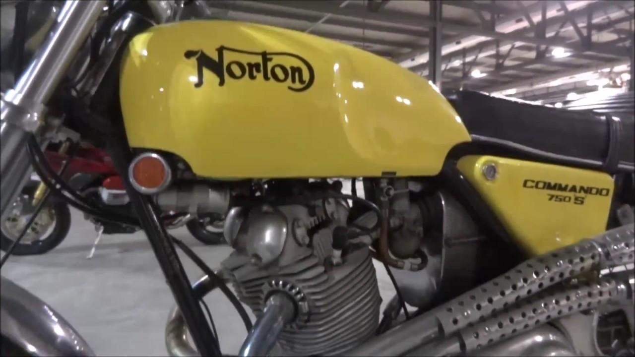 NORTON COMMANDO 750S