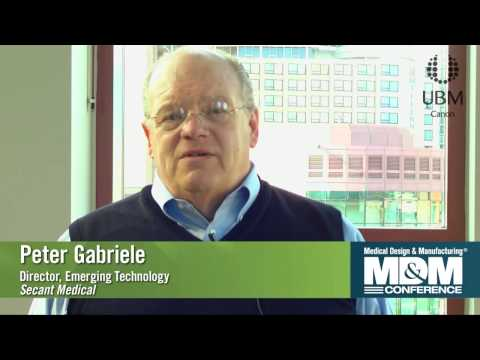 Peter Gabriele discusses his session at the MD&M Minneapolis Conference