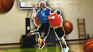 MOST DANGEROUS WAY TO PLAY BASKETBALL!!