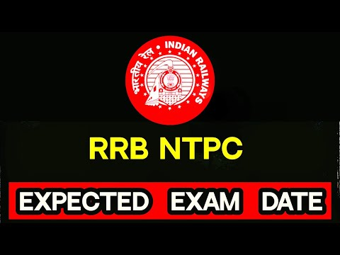 RRB NTPC 2019-20 Expected exam date