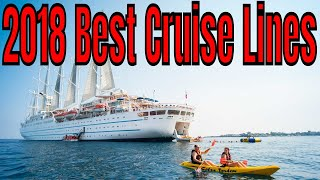 2018 Top Rated Cruise Lines By CN Royal Caribbean Norwegian Viking Crystal Windstar Princess Cunard