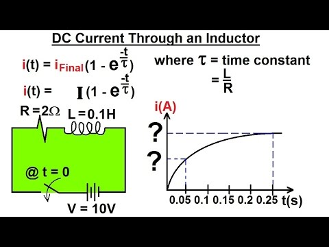 Electrical Engineering: Ch 7: Inductors (7 of 24) DC Current Through an Inductor