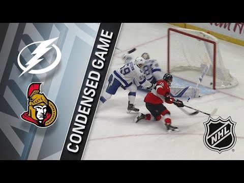 Tampa Bay Lightning vs Ottawa Senators – Jan. 06, 2018 | Game Highlights | NHL 2017/18. Обзор матча