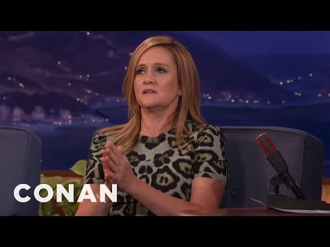 Why Samantha Bee Doesn't Use A Desk  - CONAN on TBS