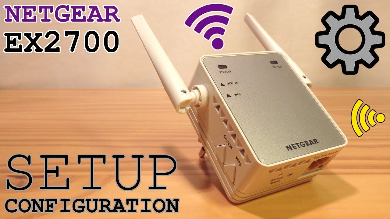 NETGEAR EX2700 Wi-Fi Extender • Unboxing Installation Configuration