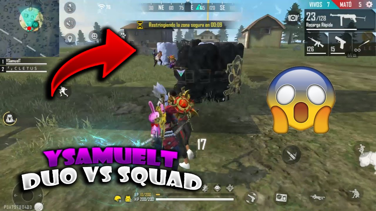 ¡DUO VS SQUAD! FREE FIRE - YSAMUELT
