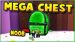 HAPPIEST NOOB GETS MEGA CHEST! Pet Simulator | Roblox