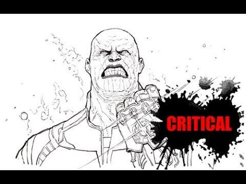 [그리다]드로잉 - 어벤져스 인피니티워 타노스  - 그림 그리기 [Grida] Avengers: Infinity War Thanos Drawing Speed Drawing