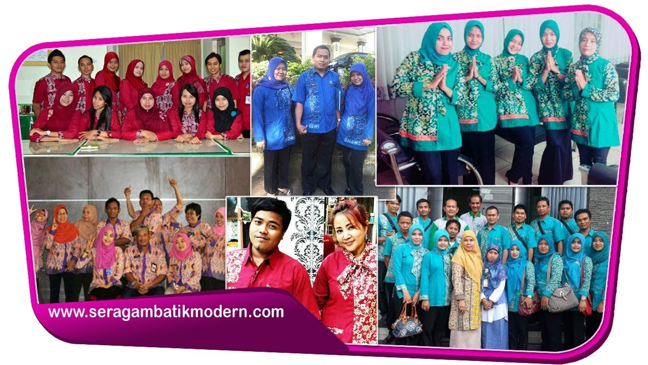 Model Batik Kantor Terbaru 2017 Seragam Batik Modern Model Baju Batik Modern Terbaru