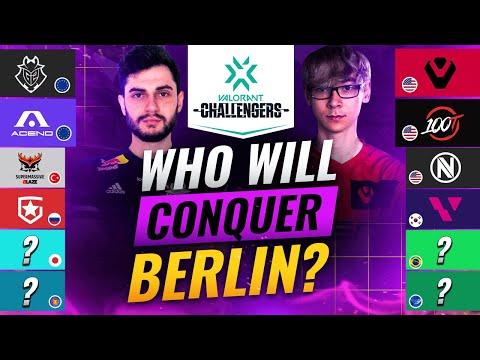 EU vs. NA? Who Will CONQUER VCT BERLIN? - Valorant Pro Team Analysis