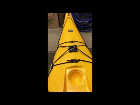 Falcon Sail Installation on a kayak