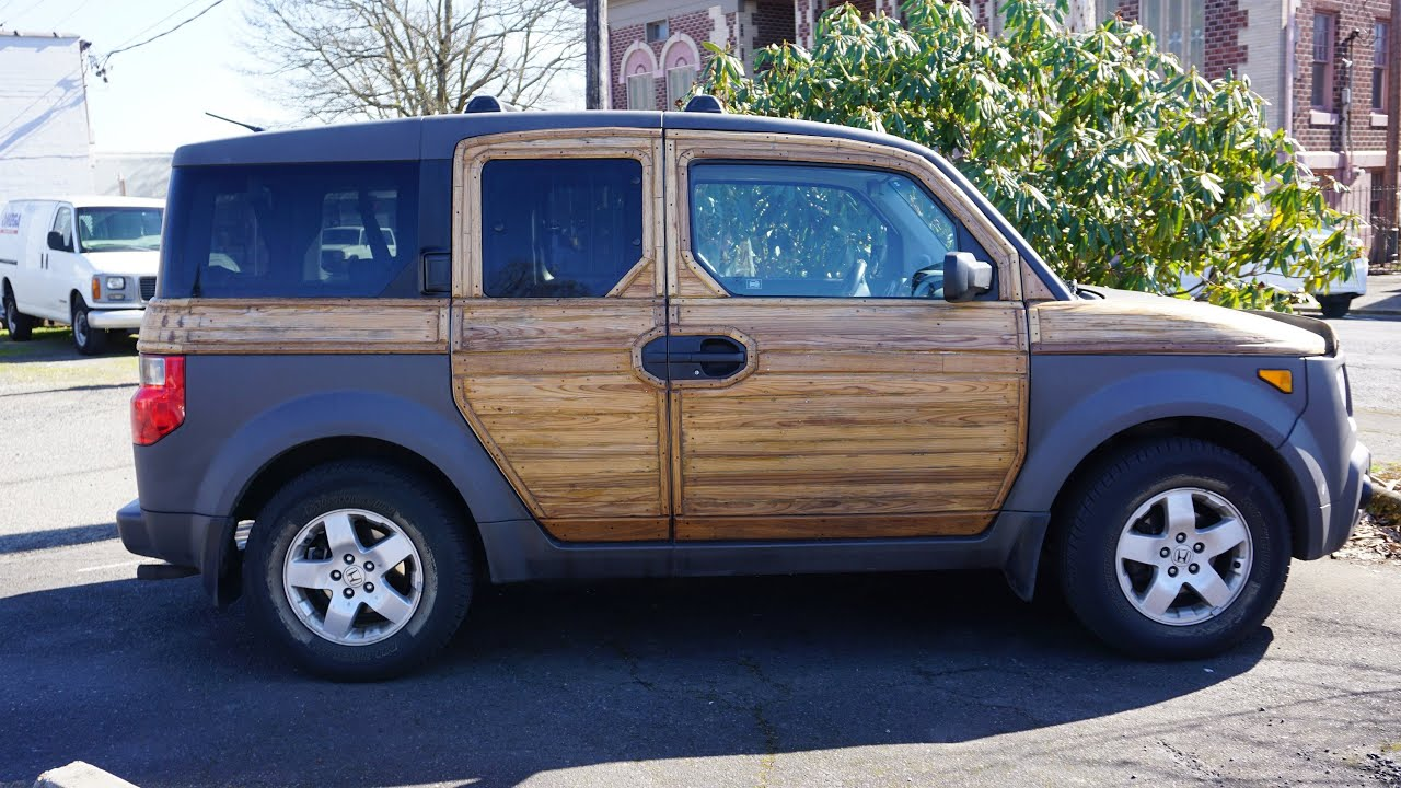 Honda Woodie Wagon Ricer Woody Suv Longroof Custom Element Youtube
