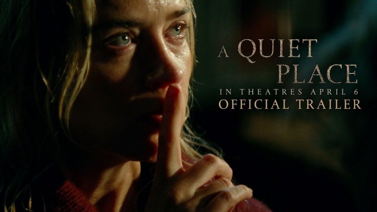 A Quiet Place is a creepy horror film set in an oppressively