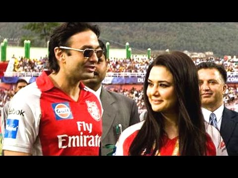 This Is What Happened When Ex Lovers Preity Zinta And Ness Wadia Came Face To Face At IPL 2017!