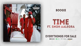 Boogie - Time Ft. Snoh Aalegra (Everythings For Sale)