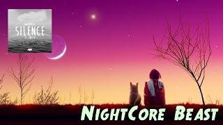 NightCore - Silence (Marshmello ft.Khalid) Lyric Video