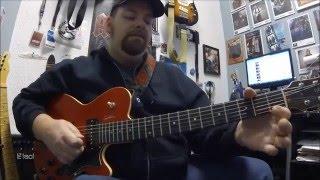 Led Zeppelin Dancing Days Open G Guitar Lesson