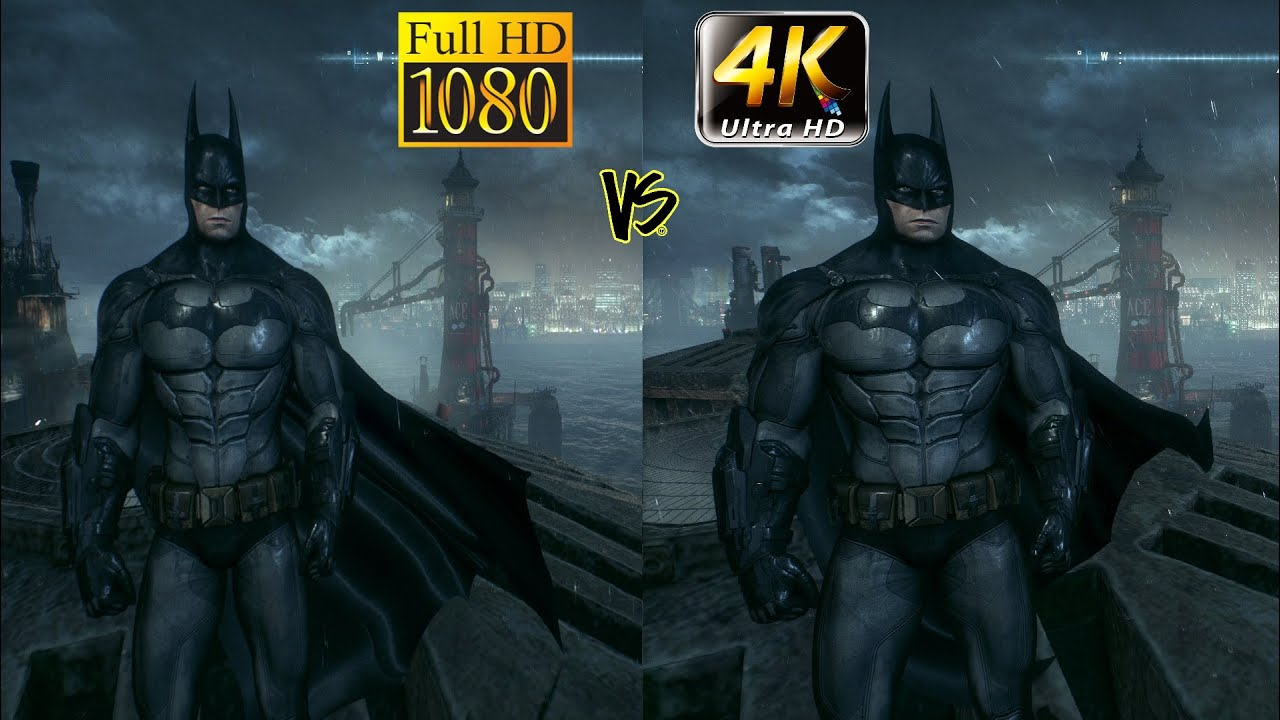 1080p full hd vs 4k uhd gaming - youtube