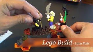 Lego Ninjago Lava Falls Set #70753 - Unboxing And Build