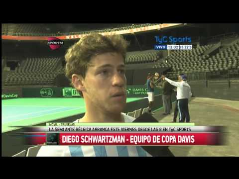Diego Schwartzman  | Copa Davis.