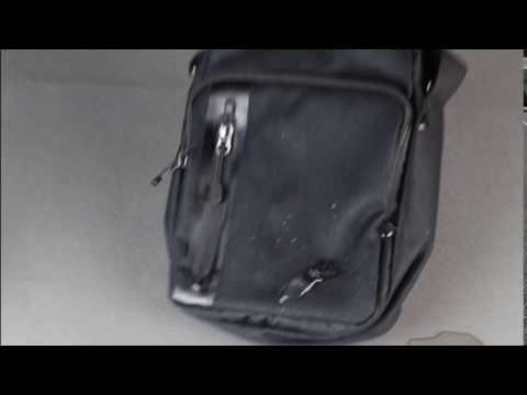 a58a3c23423 NIKE MENS CORE SMALL ITEMS BAG BLACK BLACK - YouTube