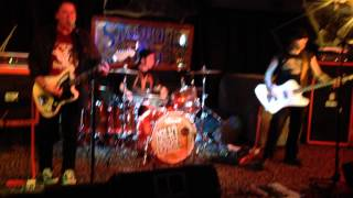"""Agent Orange """"Bloodstains"""". up close at The Stanhope House. 10/15/14 with Monster Truck Fa"""