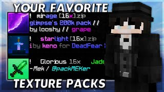 Using YOUR Favorite Texтure Packs In Hypixel Bedwars!