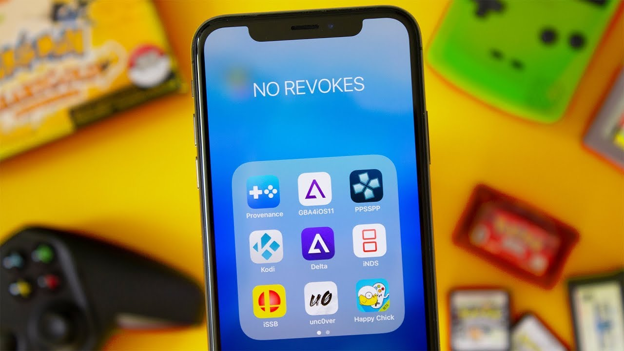 BuildStore: Play Emulators on iPhone without Crashes or Revokes! (GIVEAWAY)