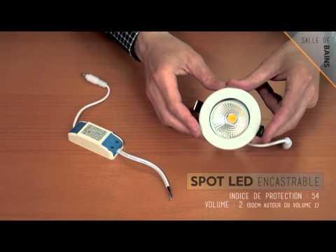 Led-Flash : Comment équiper votre salle de bain avec des spots led ...