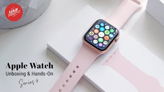 UNBOXING APPLE WATCH SERIES 4 (40mm)
