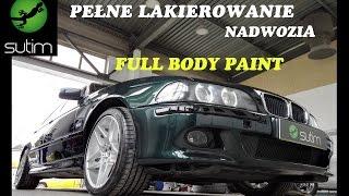 Bmw E39 M-Pakiet Pełne Lakierowanie Nadwozia / Full Car Paint Sutim Gorlice