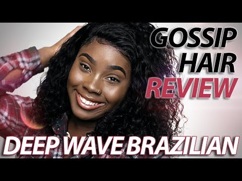 Gossip Hair Review: Deep Wave Brazilian Lace Frontal (2018)