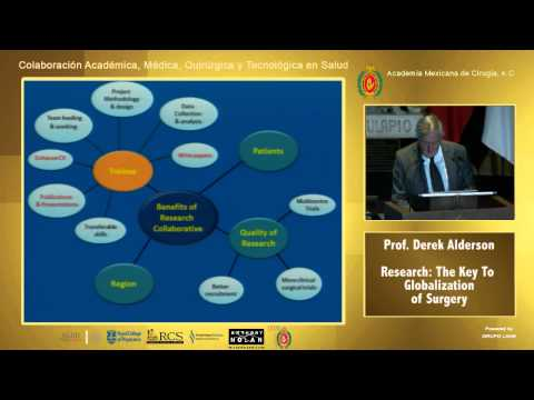 Research: The Key To Globalization Of Surgery - Prof. Derek Anderson - 11/11/14