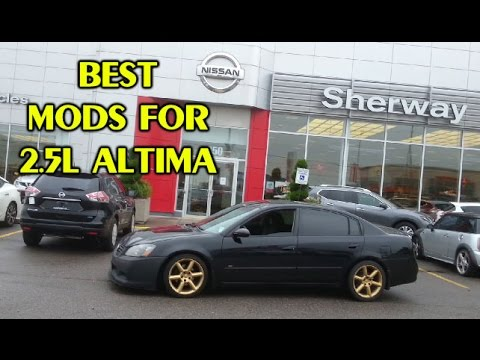 Best Performance Mods For The Altima 2.5