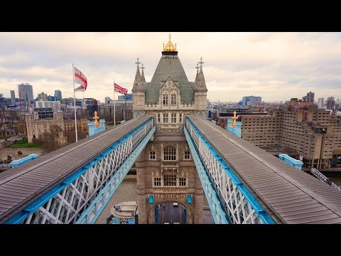 Going behind the scenes of London's Tower Bridge