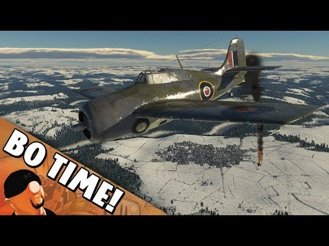 "War Thunder - Martlet Mk IV ""Never Go AFK!"""