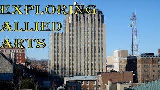 Exploring The Allied Arts Building in Lynchburg, VA!