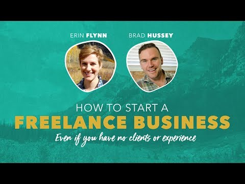 Free Webinar: How to Start Freelancing From Scratch (with Erin Flynn)