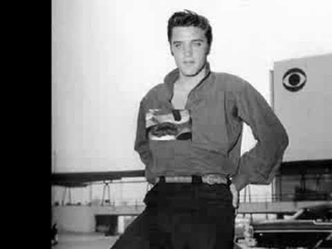 Elvis presley my baby left me