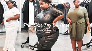 Plus Size Try On Haul | Universal Standard Mini Vlog